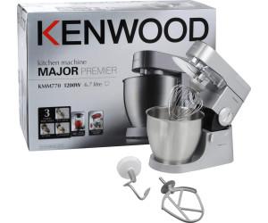 küchenmaschine kenwood major kmm770 premier test