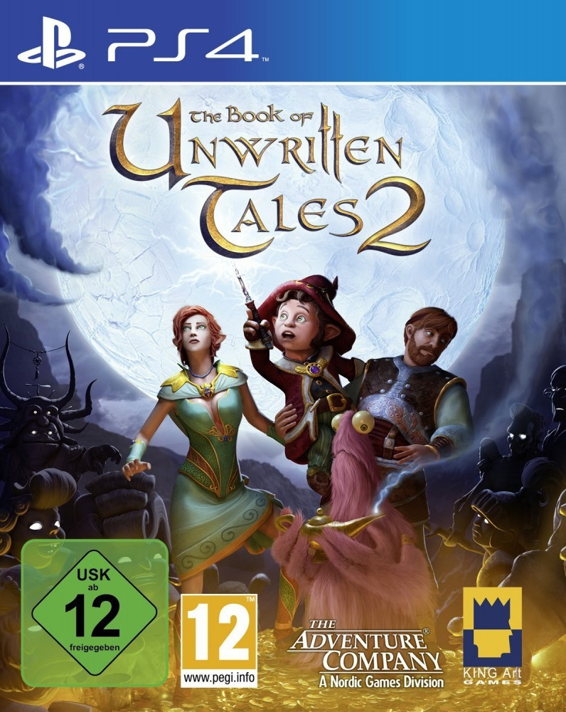 The Book of Unwritten Tales 2 (PS4)