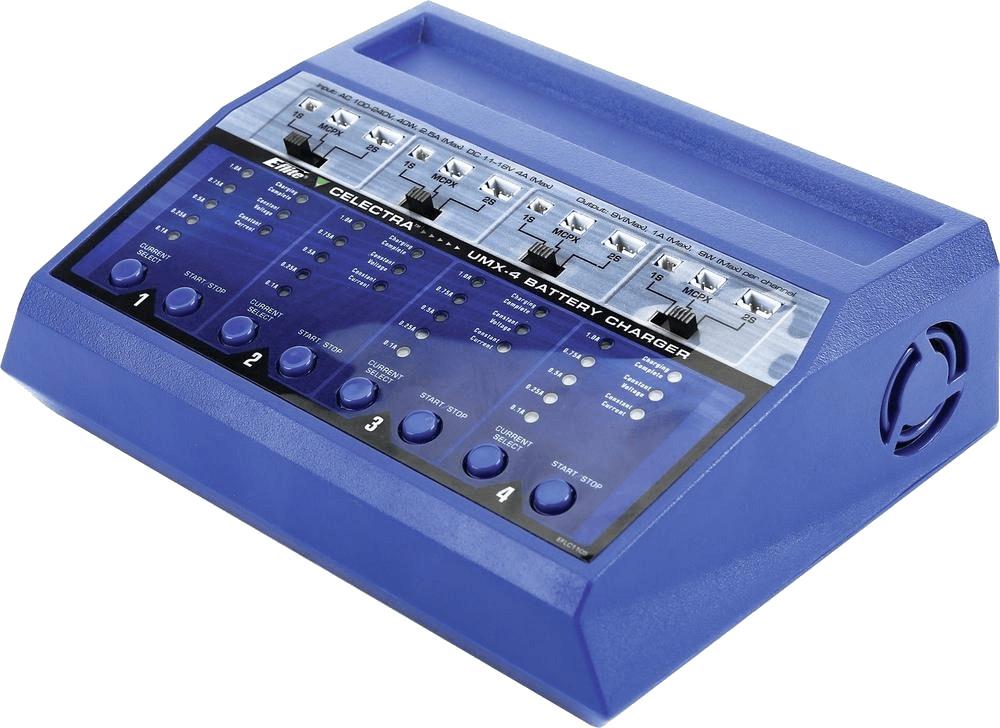 E-flite Modellbau-Ladegerät 220 V, 12 V 1 A Ult...