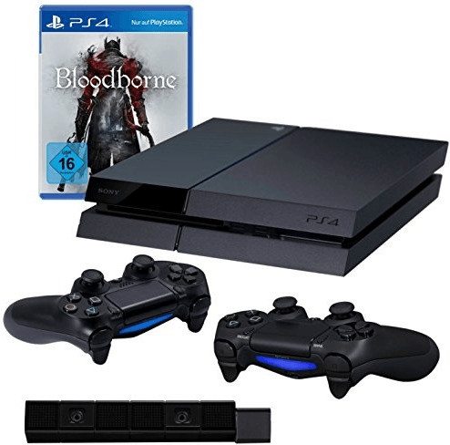 Sony PlayStation 4 (PS4) 500GB + Bloodborne - G...