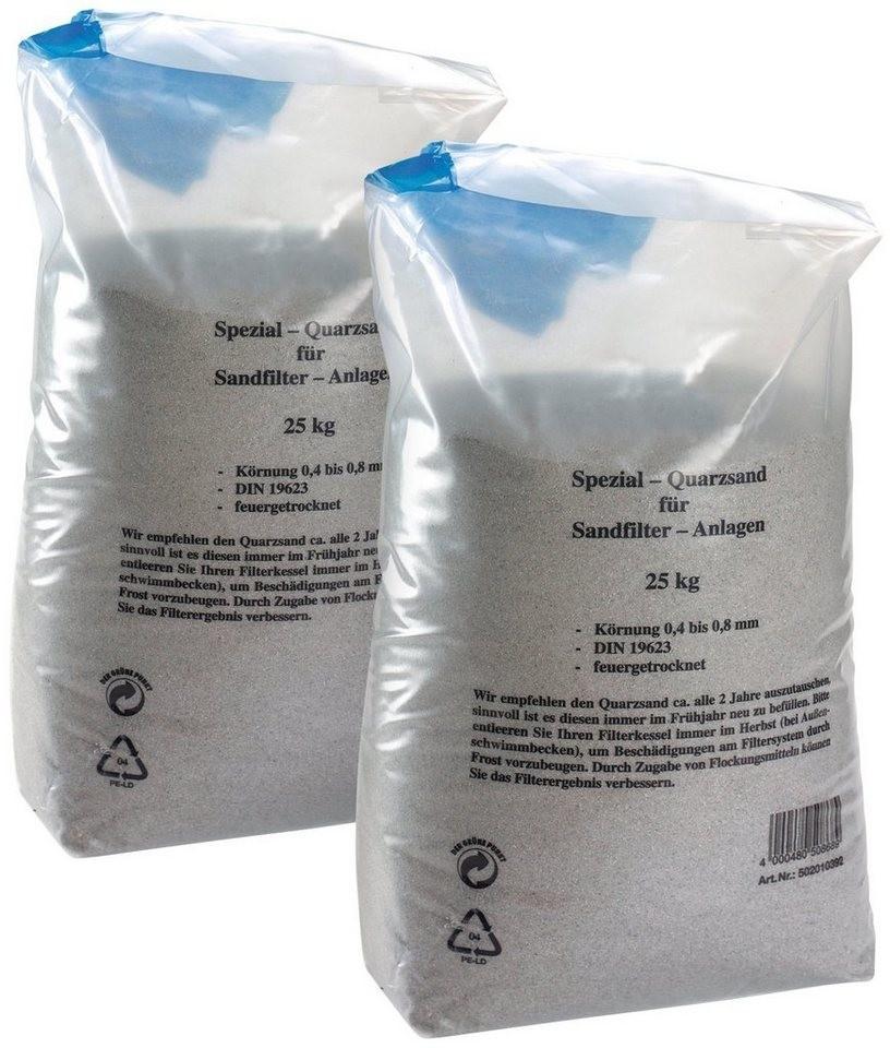 MyPool Quarzsand 50 Kg (0,4 - 0,8 mm)