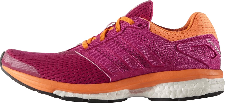 adidas Supernova Glide Boost 7, Zapatillas de Running para Mujer, Magenta/Naranja, 36 EU