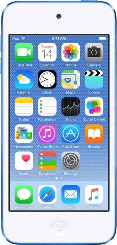 Apple iPod touch 6G 64GB blau