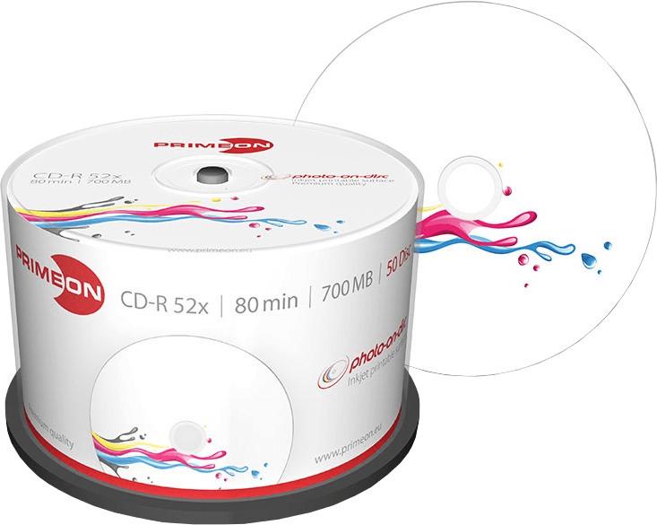 Primeon CD-R bedruckbar