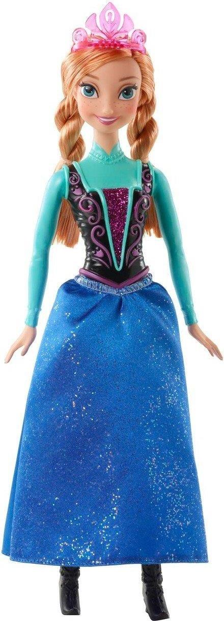 Mattel Frozen - Anna purpurina