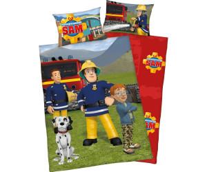 Herding Bettwäsche 100x135cm Biber Feuerwehrmann Sam 2670016063