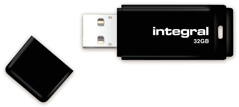Image of Integral Black USB 2.0 32GB