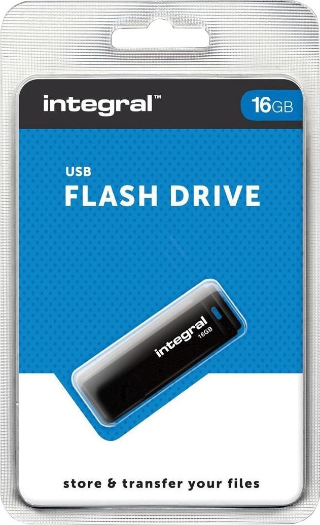 Image of Integral Black USB 2.0 16GB