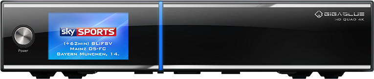 Image of GigaBlue UHD Quad 4K PVR Ready