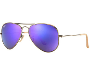 e39f4dd5857 Buy Ray-Ban RB3025 167 1M (violet mirror bronze-copper) from £76.72 ...