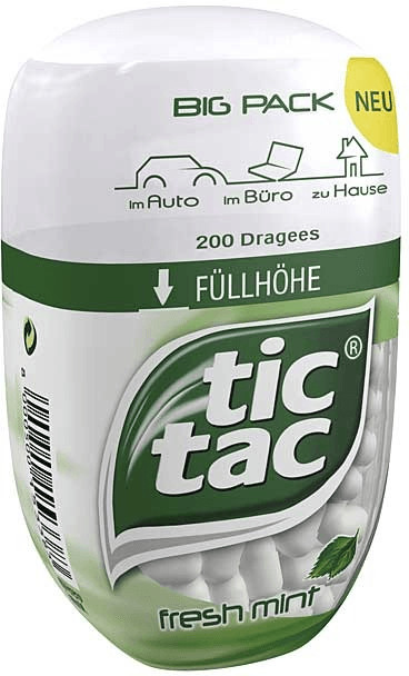 TicTac Fresh Mint Big Pack (98g)