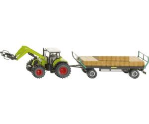 Modellfahrzeug dunkelgrün SIKU FARMER Viehanhänger