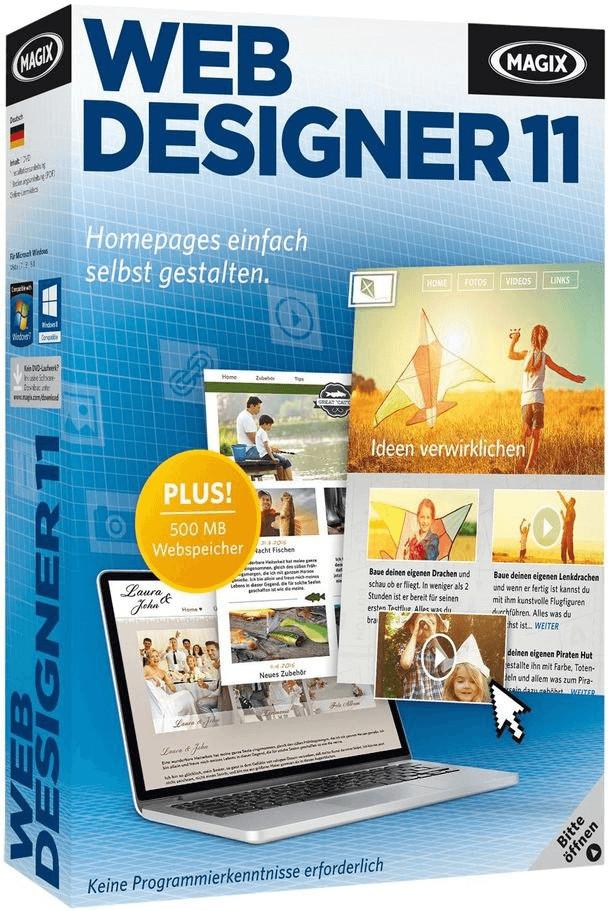 Magix Web Designer 11 Standard