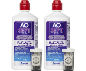 Alcon AO Sept Plus HydraGlyde (2 x 360ml)