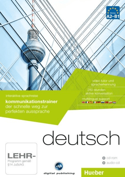 #Digital Publishing Interaktive Sprachreise: Kommunikationstrainer Deutsch#