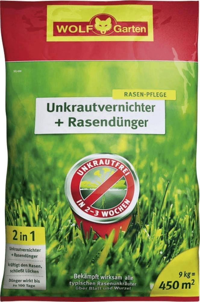 Wolf-Garten Unkrautvernichter & Dünger SQ 450m²