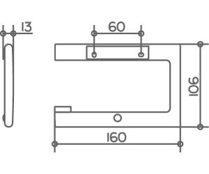 keuco edition 400 verchromt 11562010000 ab 53 05 preisvergleich bei. Black Bedroom Furniture Sets. Home Design Ideas