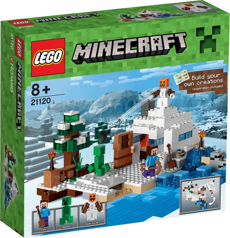 LEGO Minecraft - La Guarida en la Nieve (21120)