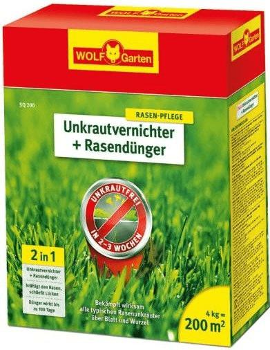 Wolf-Garten Unkrautvernichter & Dünger SQ 200m²
