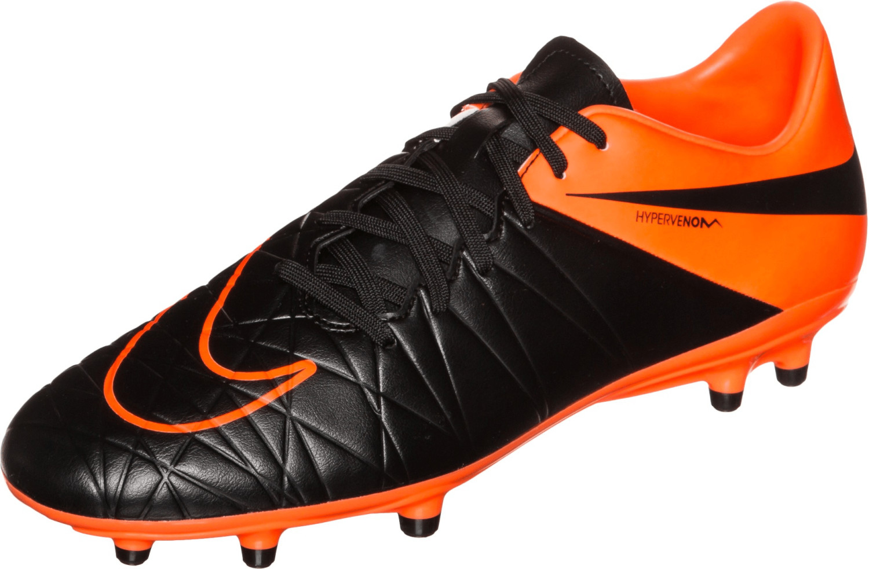 Nike Hypervenom Phelon II TC FG black/total orange