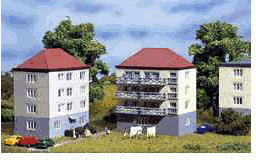 Auhagen 2 Wohnhäuser (14464)