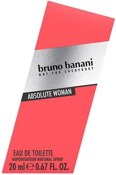 Bruno Banani Absolute Woman Eau de Toilette (20ml)