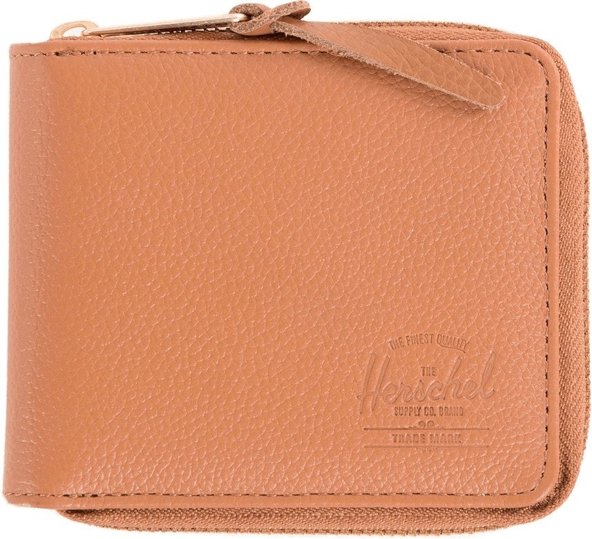 Herschel Walt Leather Tan Pebbled Leather , Carteras  Herschel , moda