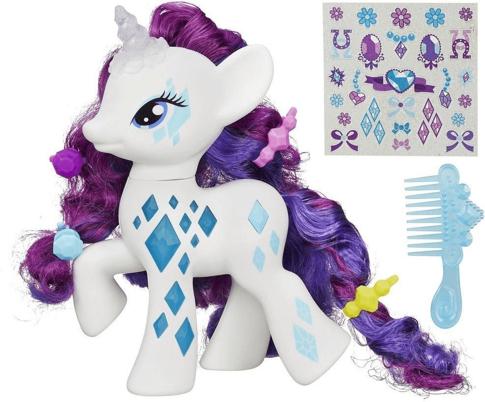 My Little Pony Rarity Luces y Destellos