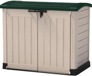Ondis24 Keter ARC Gerätebox Aufbewahrungsbox Mülltonnenbox Gartenbox anthrazit