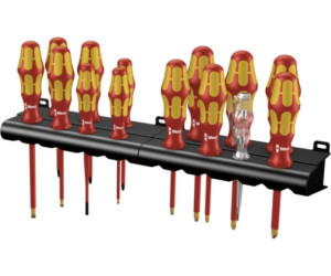 Wera Schraubendreher Satz Kraftform Big Pack 900 15 teilig Rack Schraubenzieher
