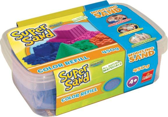 Goliath Super Sand Color Refill 450g - blau