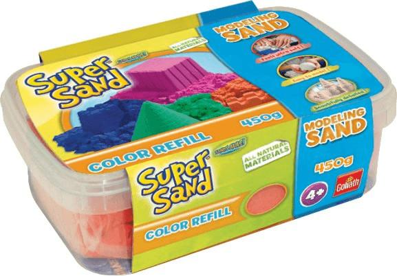 Goliath Super Sand Color Refill 450g - orange