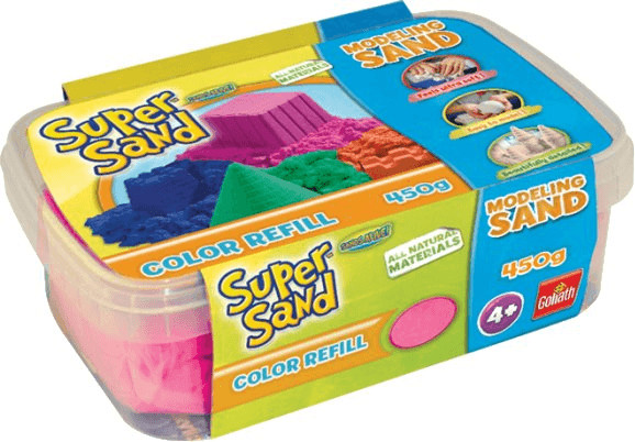Goliath Super Sand Color Refill 450g pink