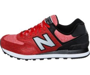 super cute 53e22 7ac93 Buy New Balance 574 red/black (ML574TTB) from £124.97 – Best ...