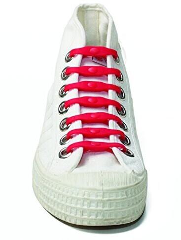 Shoeps Elastische Schnürsenkel rot