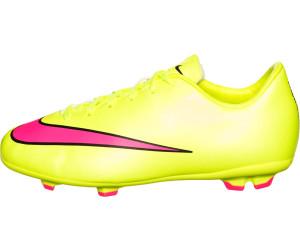 4276dffd4 Buy Nike Mercurial Victory V FG Jr volt hyper pink black from £36.64 ...