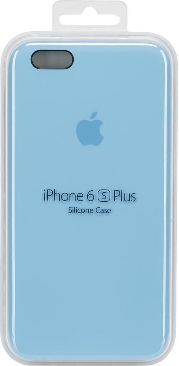 Apple Silikon Case blau (iPhone 6S Plus)