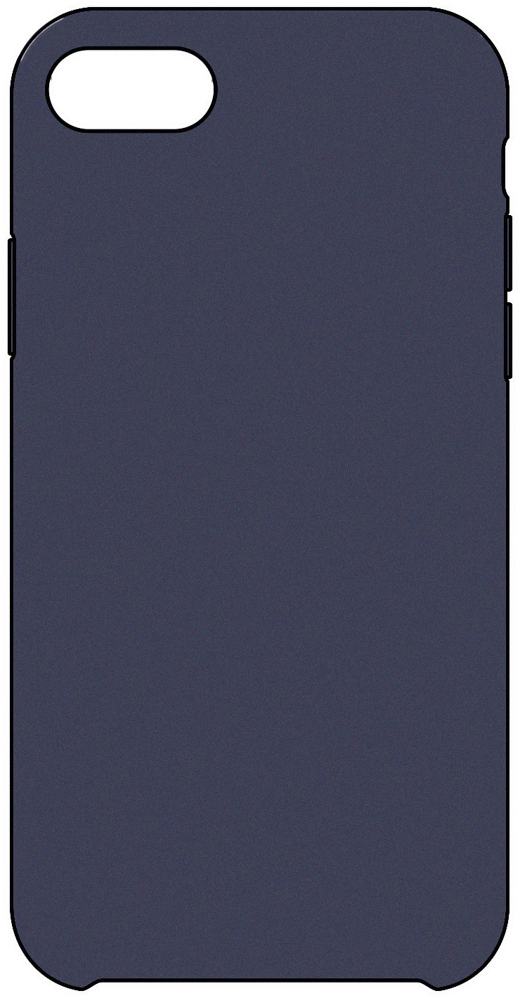 Image of Apple Cover in pelle blu notte (iPhone 6S)