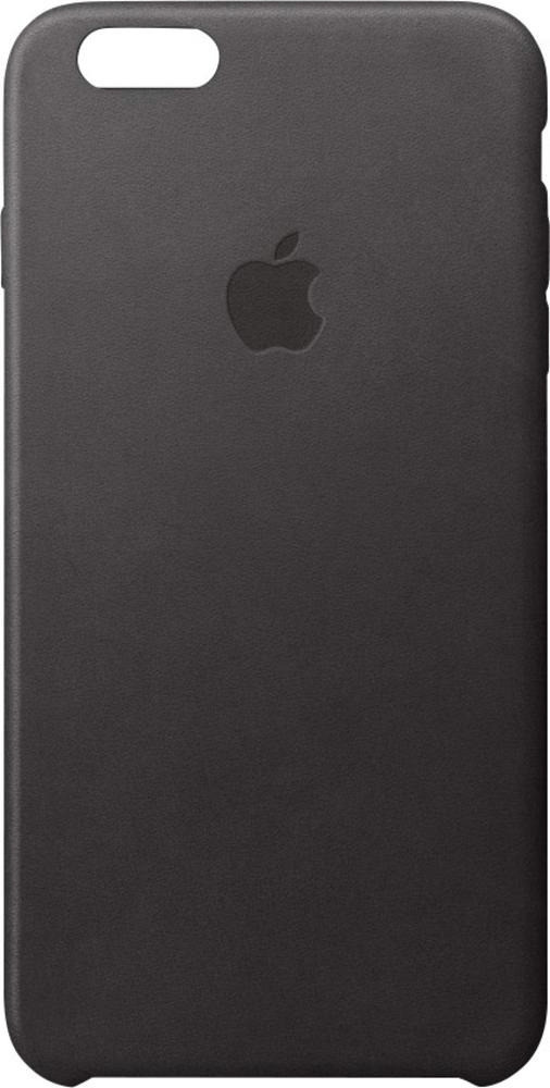 Image of Apple Cover in pelle nero (iPhone 6S)
