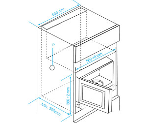 Beko MGB 25332 BG Incasso 25L 900W Nero Acciaio inossidabile forno a microonde