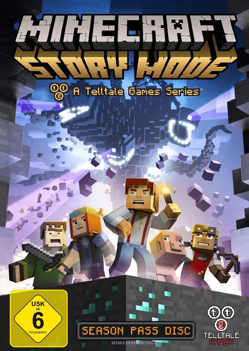 Minecraft: Story Mode - A Telltale Games Series...