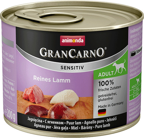 Animonda GranCarno Sensitiv Reines Lamm (200 g)