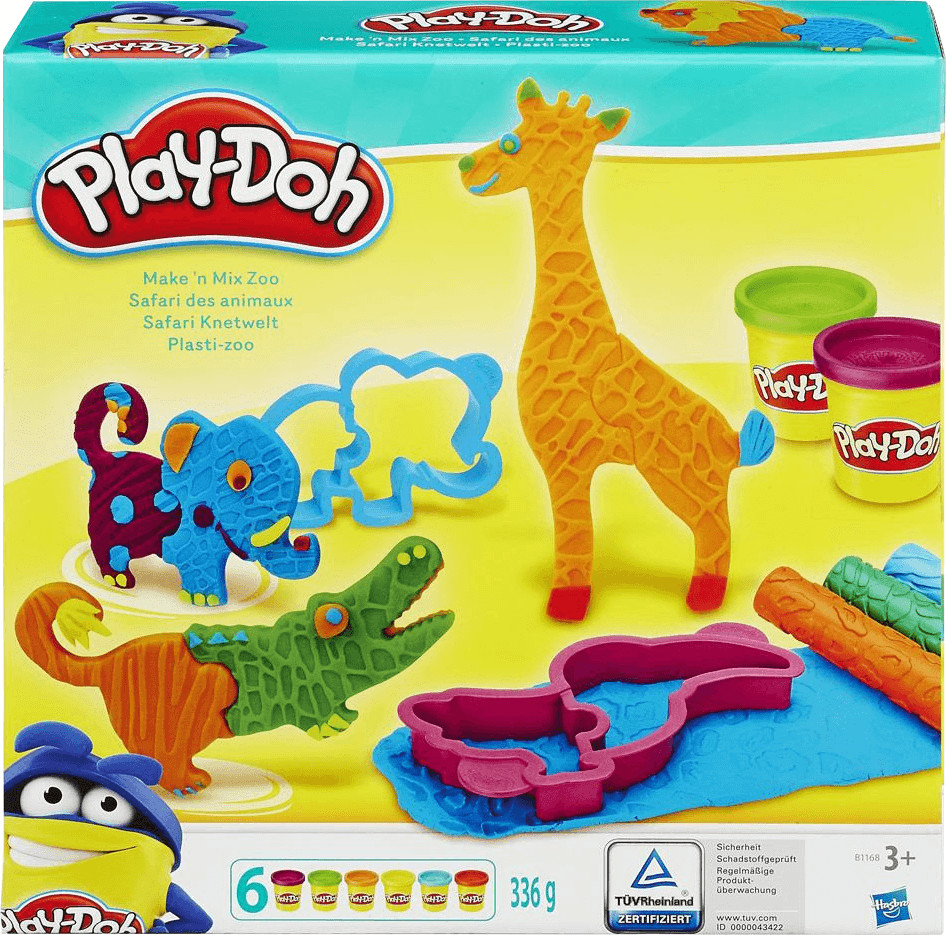 Play-Doh Safari Knetwelt