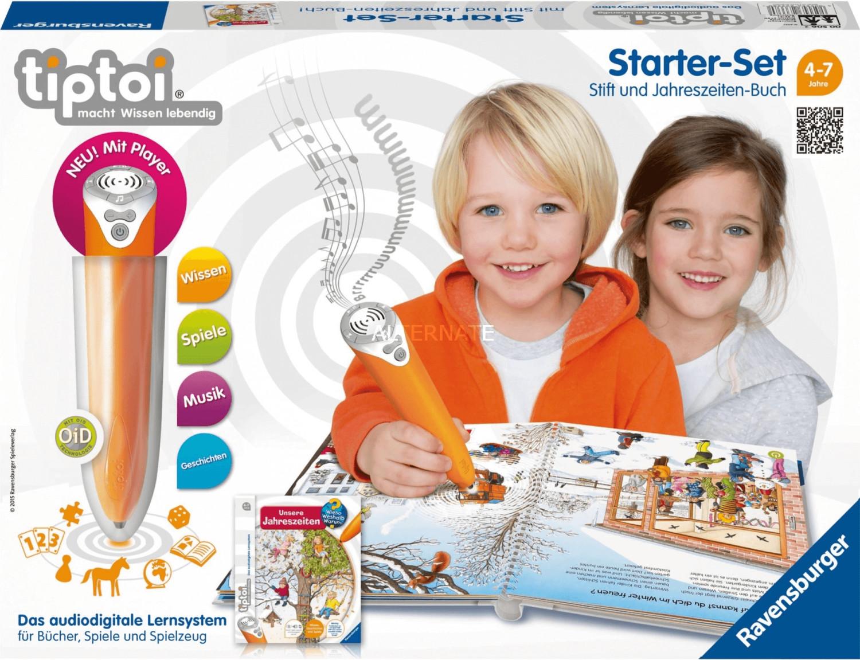 Ravensburger tiptoi Starter-Set Stift und Jahreszeiten-Buch