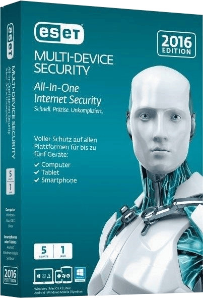 ESET Multi Device Security 2016 (5 User) (DE) (...