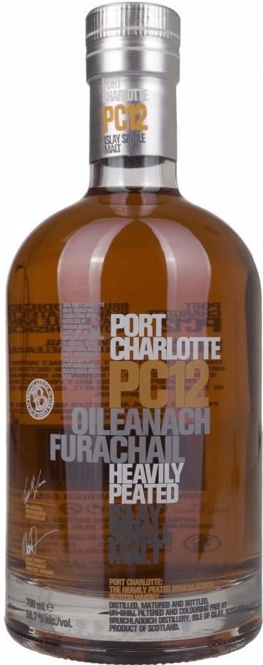 Bruichladdich Port Charlotte PC12 Oileanach Fur...