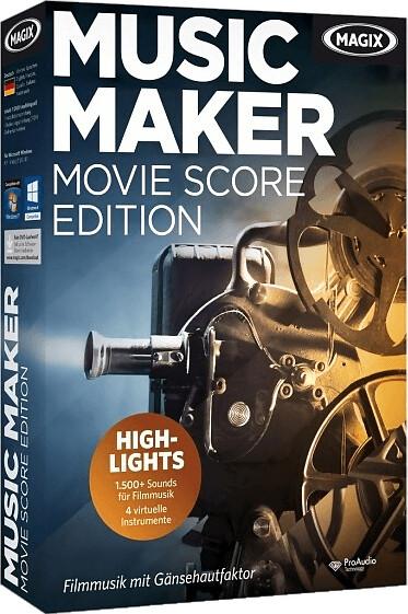 Image of Magix Music Maker Movie Score Edition
