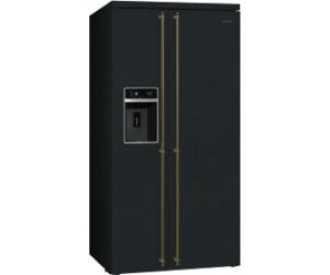 Retro Doppel Kühlschrank : Smeg sbs8004ao ab 3.435 00 u20ac preisvergleich bei idealo.de