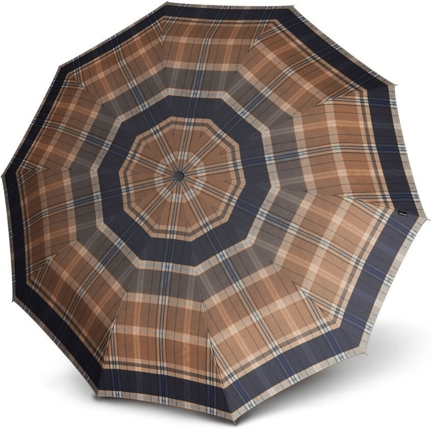 Image of Knirps Long AC beige check (538)
