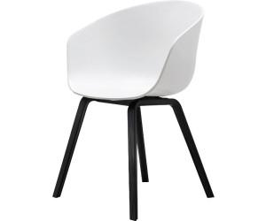 Hay About A Chair Aac22 Weiß Gestell Schwarz Gebeizt Ab 20739